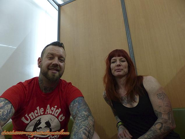 Aux Portes Du Metal Interview De Walls Of Jericho Candace Dustin Face To