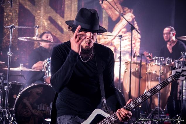 Aux portes du metal chronique du concert de ill ni o ektomorf xtortya heart attack - Aux portes du metal ...