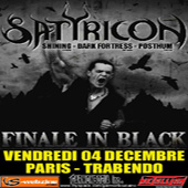 Live Report - Satyricon