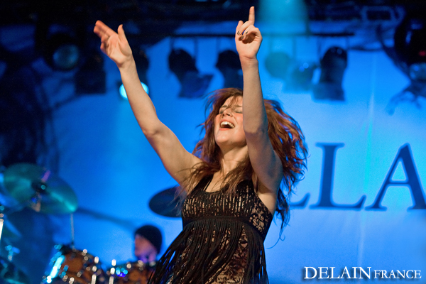 Live Report - Delain - Whyzdom - The Outburst