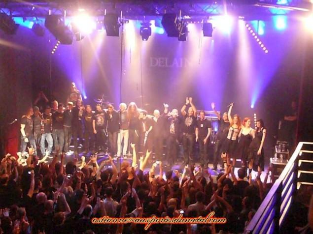 Chronique du concert de delain 21 mai 2011 l 39 ahlambra paris - Aux portes du metal ...