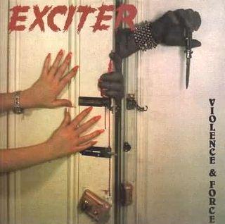 Aux portes du metal chronique d 39 album metal exciter violence and force heavy speed metal - Aux portes du metal ...