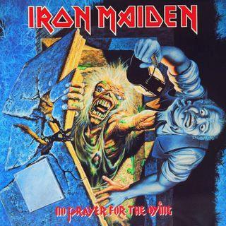 aux portes du metal chronique d 39 album metal iron maiden no prayer for the dying heavy metal. Black Bedroom Furniture Sets. Home Design Ideas