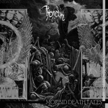 Aux portes du metal chronique d 39 album metal throneum morbid death tales black death album - Aux portes du metal ...